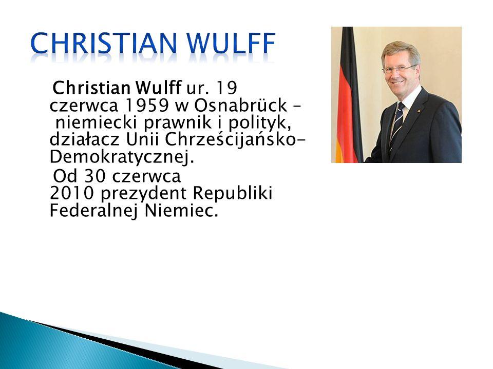 Christian Wulff ur.