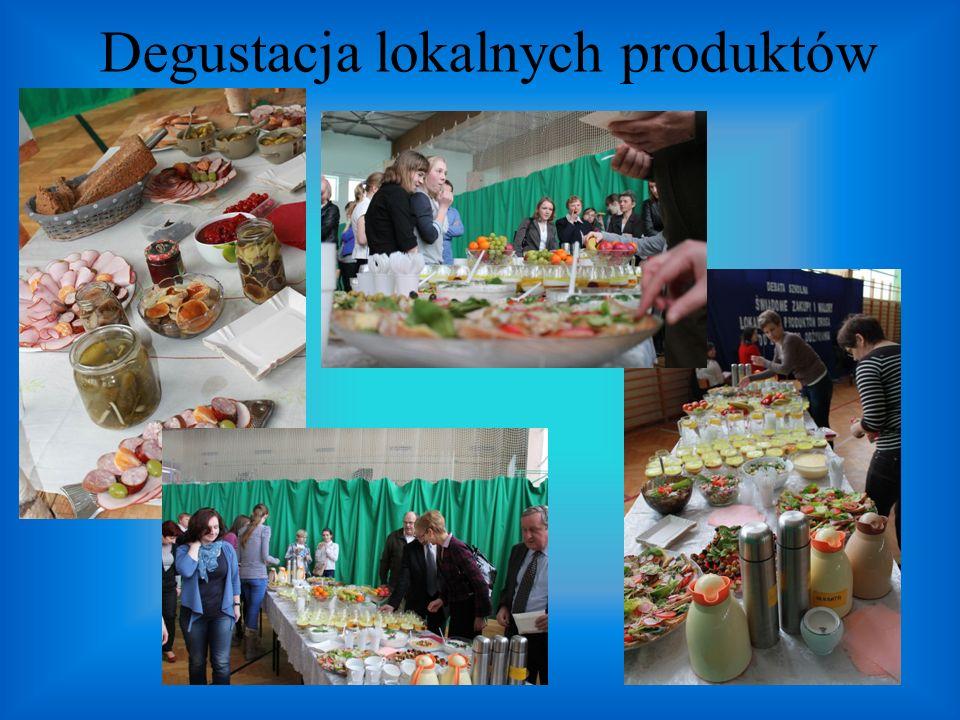 Degustacja lokalnych produktów