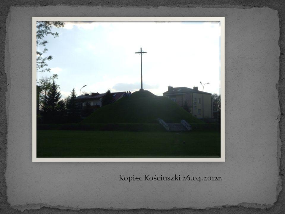 Kopiec Kościuszki 26.04.2012r.