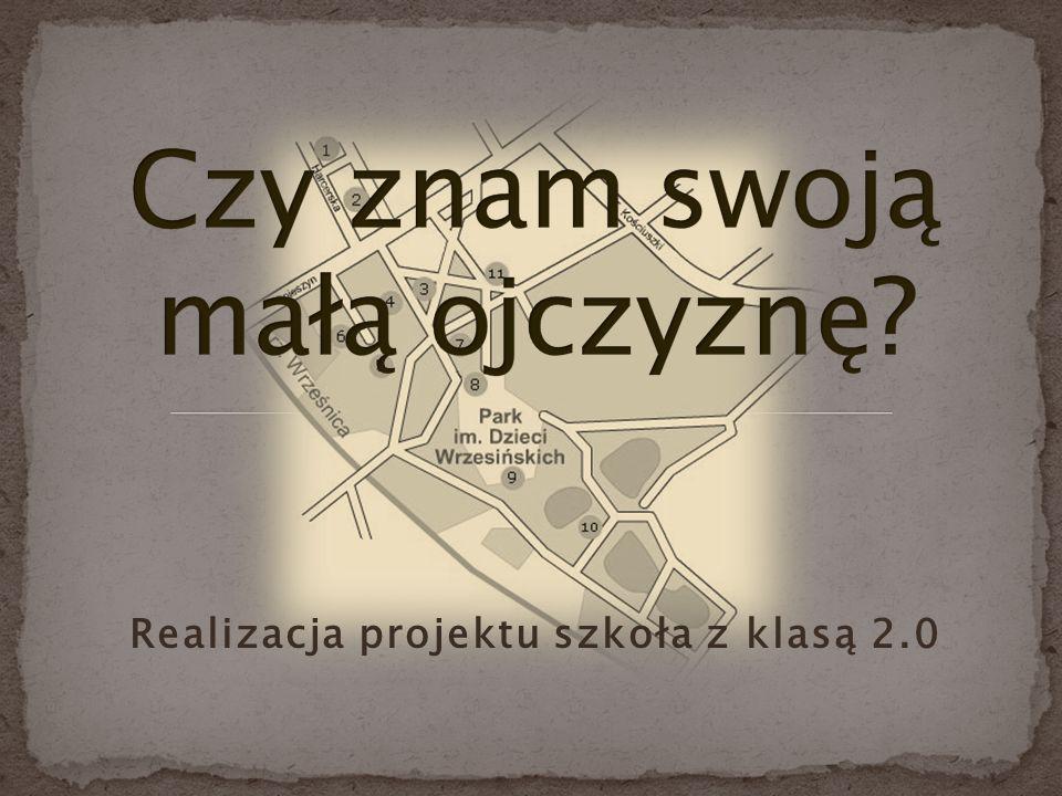 Realizacja projektu szkoła z klasą 2.0
