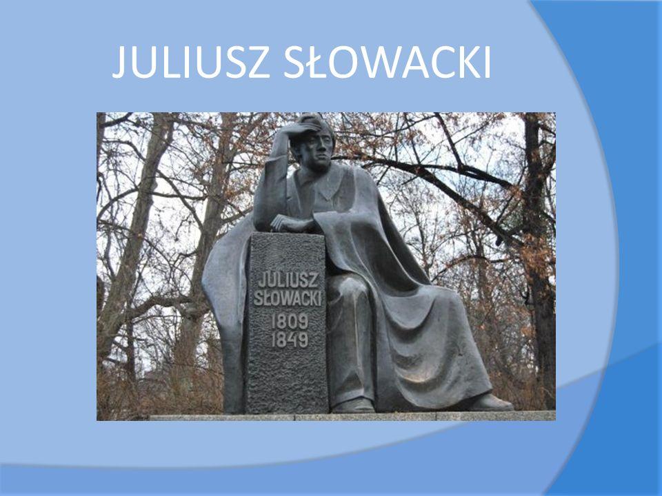 Juliusz Słowacki urodził się 4 września 1809 roku w Krzemieńcu.