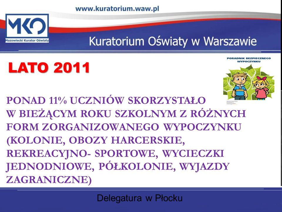 Delegatura w Płocku LATO 2011