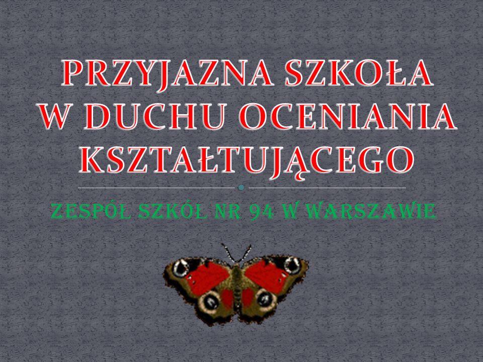 ZESPÓ Ł SZKÓ Ł NR 94 W WARSZAWIE