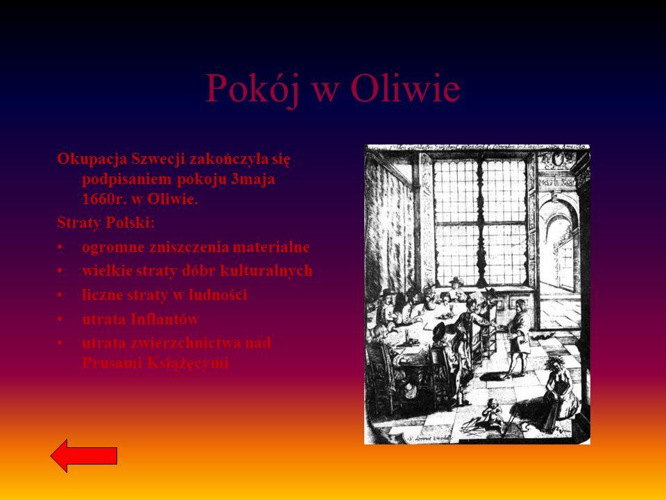 BITWY Kampania 1655 Bitwa pod Ujściem 24.07.1655 Bitwy pod Sobotą i Piątkiem 02.09.1655 Bitwa pod Żarnowem 16.09.1655 Bitwa pod Nowym Dworem 21.09.165