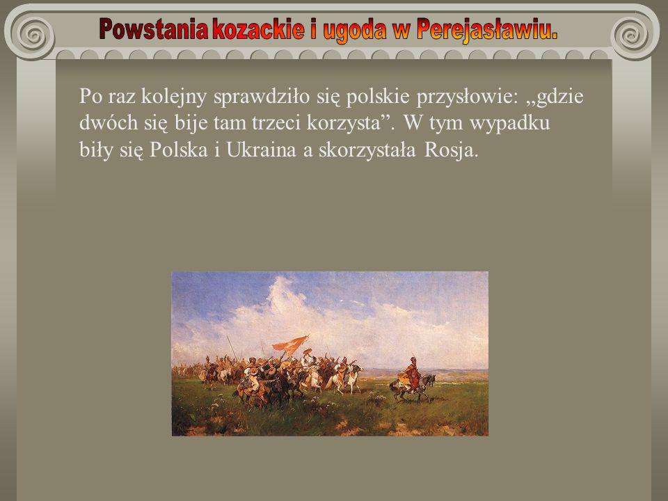 Po raz kolejny sprawdziło się polskie przysłowie: gdzie dwóch się bije tam trzeci korzysta. W tym wypadku biły się Polska i Ukraina a skorzystała Rosj