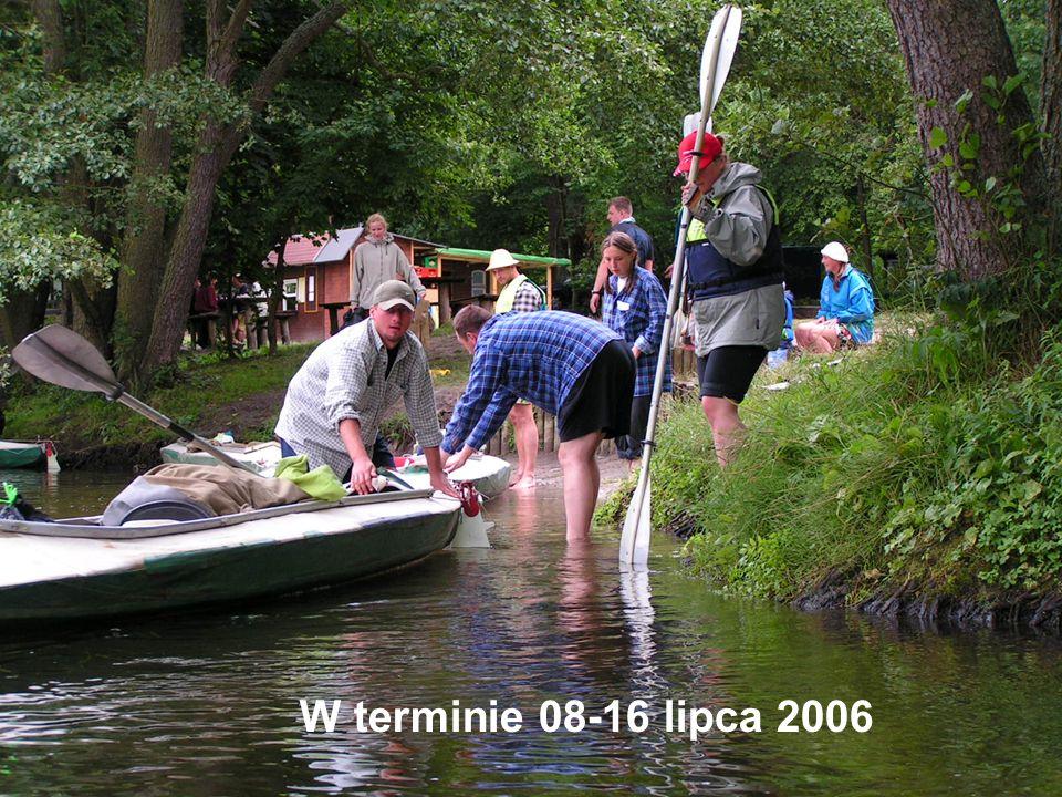 W terminie 08-16 lipca 2006