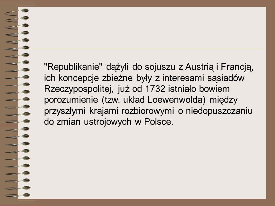 Początkowo Katarzyna II chciała sama uzależnić Polskę, jednakże częste niepokoje wewnętrzne, zwłaszcza trwająca cztery lata (1768-1772) konfederacja barska, przekonały cesarzową, że nie utrzyma w ryzach podbitych Polaków.