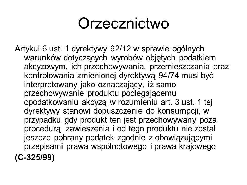 Orzecznictwo Artykuł 6 ust.