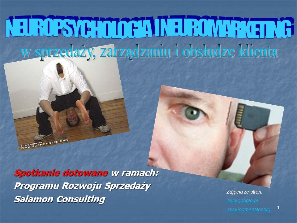 1 Spotkanie dotowane w ramach: Programu Rozwoju Sprzedaży Salamon Consulting Zdjęcia ze stron: www.google.pl www.joemonster.org