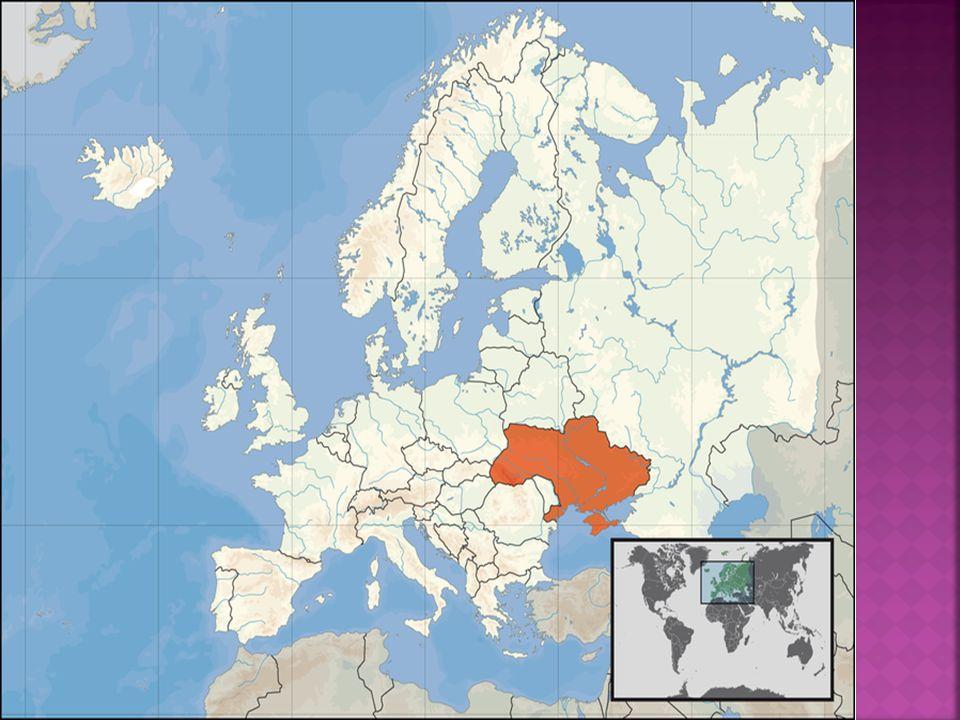 Powierzchnia Ukrainy z wyjątkiem Karpat na zachodzie i Gór Krymskich jest równinna.