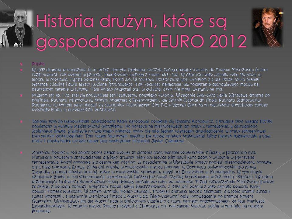 Ukraina Reprezentacja Ukrainy rozpocz ę ła wyst ę py mi ę dzynarodowe 29 kwietnia 1992 roku, od pora ż ki 1:3 z W ę grami.
