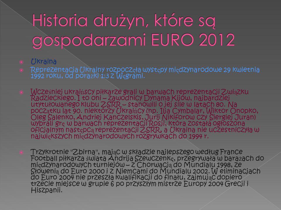Najwi ę kszym sukcesem ukrai ń skiego piłkarstwa jest: Mistrzostwo Europy U-19, wywalczone na ukrai ń skich boiskach w 2009 roku Wicemistrzostwo Europy U-18, wywalczone na niemieckich boiskach w 2000 roku oraz wicemistrzostwo Europy U-21, wywalczone na portugalskich boiskach w 2006 roku.