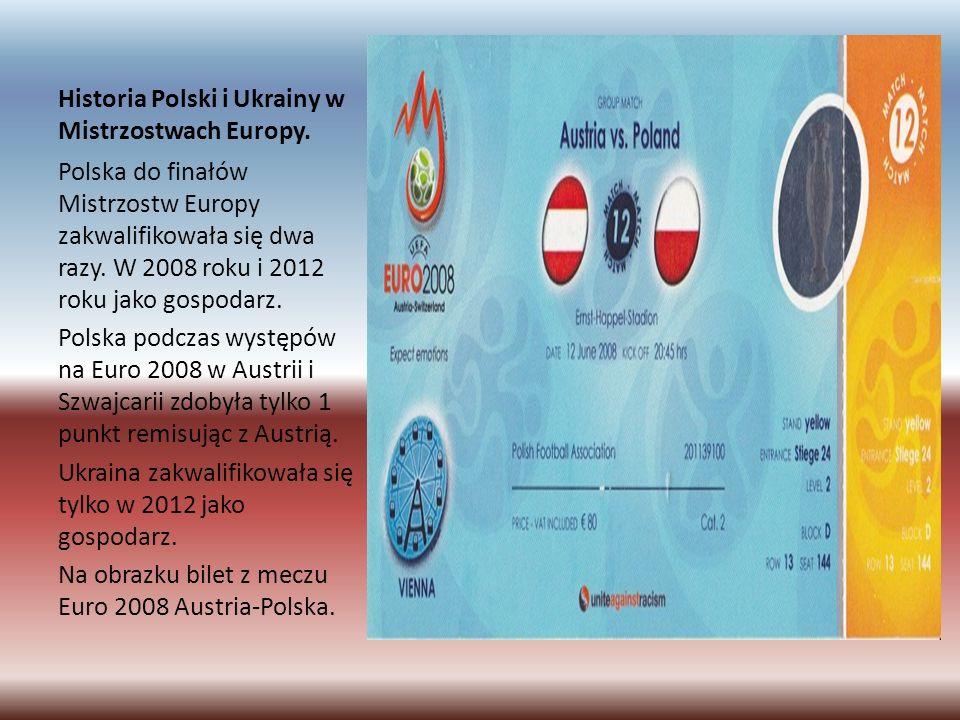 Historia Polski i Ukrainy w Mistrzostwach Europy.