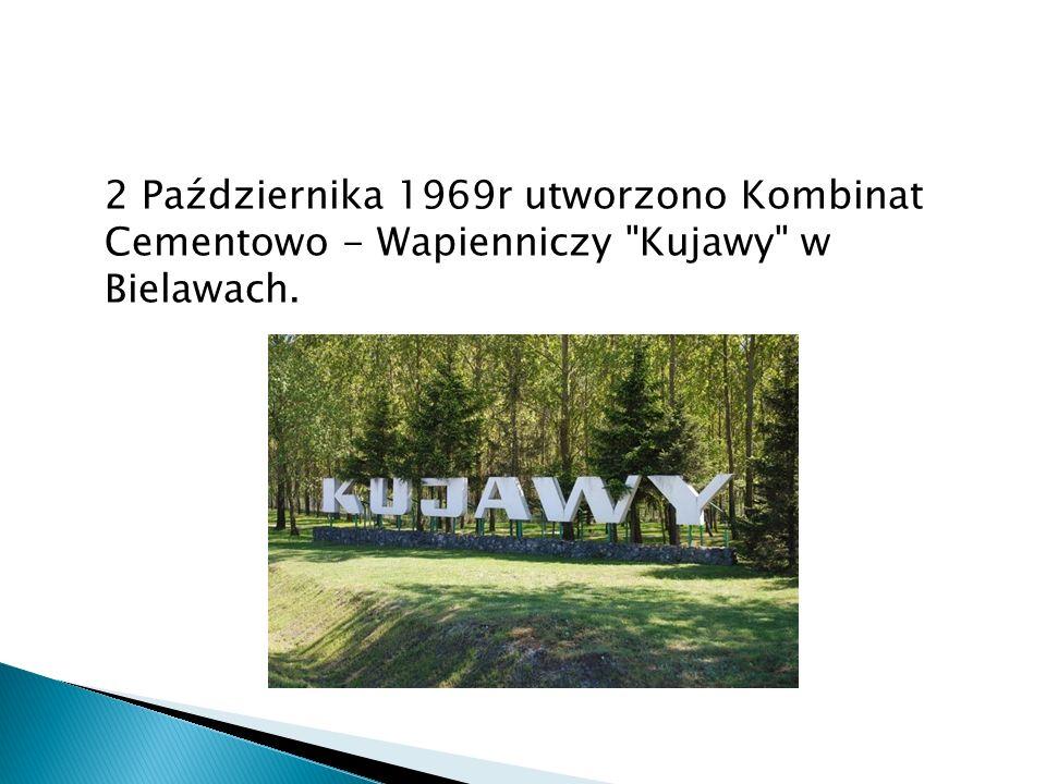 2 Października 1969r utworzono Kombinat Cementowo - Wapienniczy