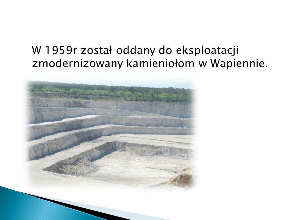 Następnie powstała Kopalnia Bielawy oraz Cementownia Kujawy