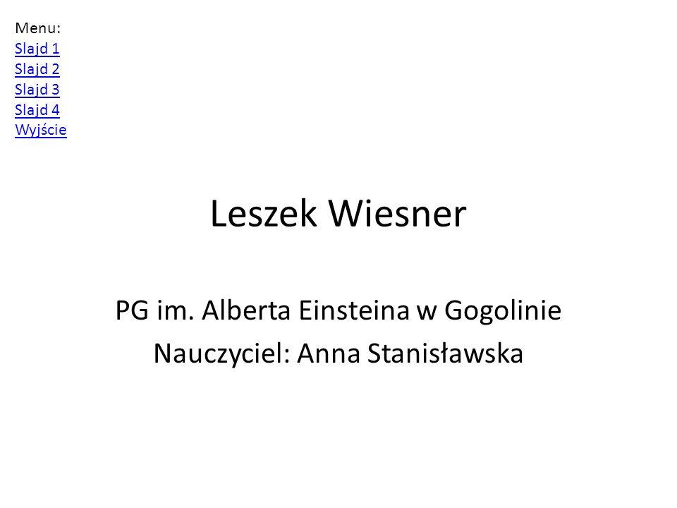 Leszek Wiesner PG im.