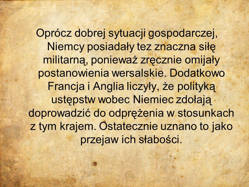 Locarno (1925) W 1925 roku w Locarno odbyła się konferencja z udziałem Anglii, Francji, Belgii, Włoch i Niemiec, a na zakończenie obrad zaproszono również reprezentację Polski i Czechosłowacji.