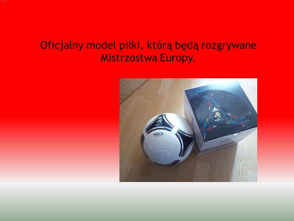 Oficjalny model piłki, którą będą rozgrywane Mistrzostwa Europy.