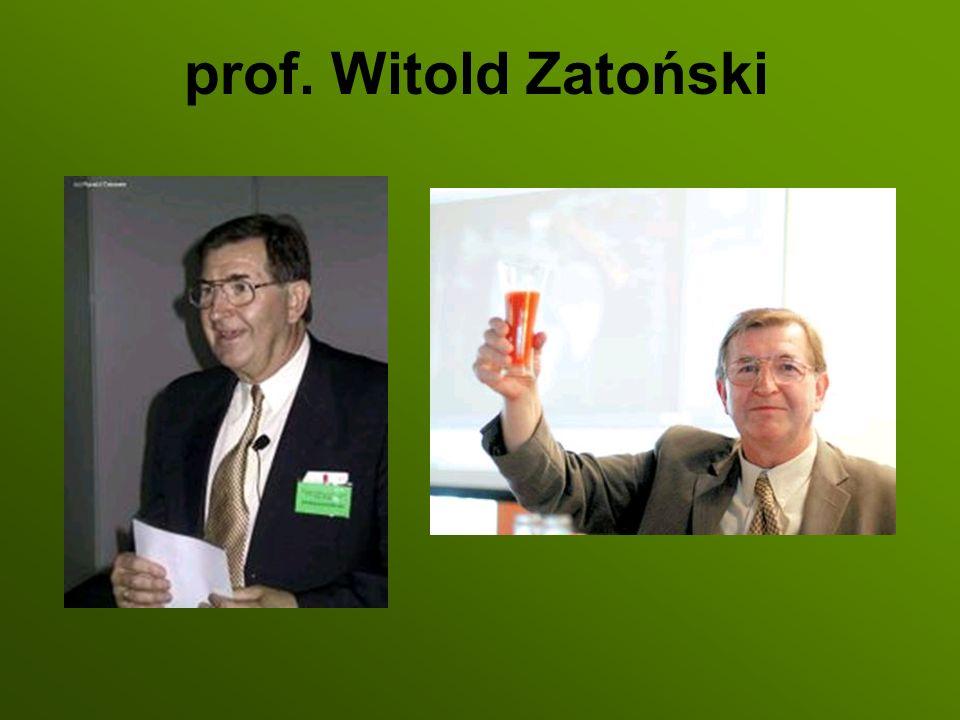 prof. Witold Zatoński