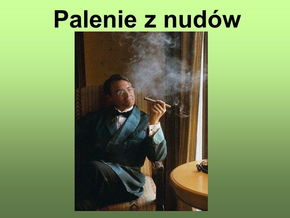 Palenie z nudów