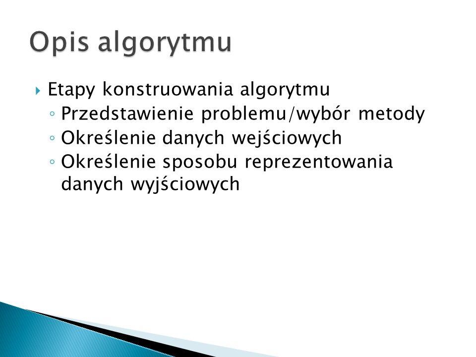 Problem do zrealizowania: Napisz program znajdujący spośród dwóch liczb całkowitych wpisanych przez użytkownika liczbę mniejszą.