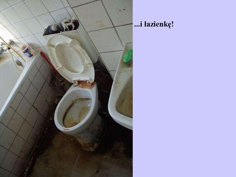 ...i łazienkę!
