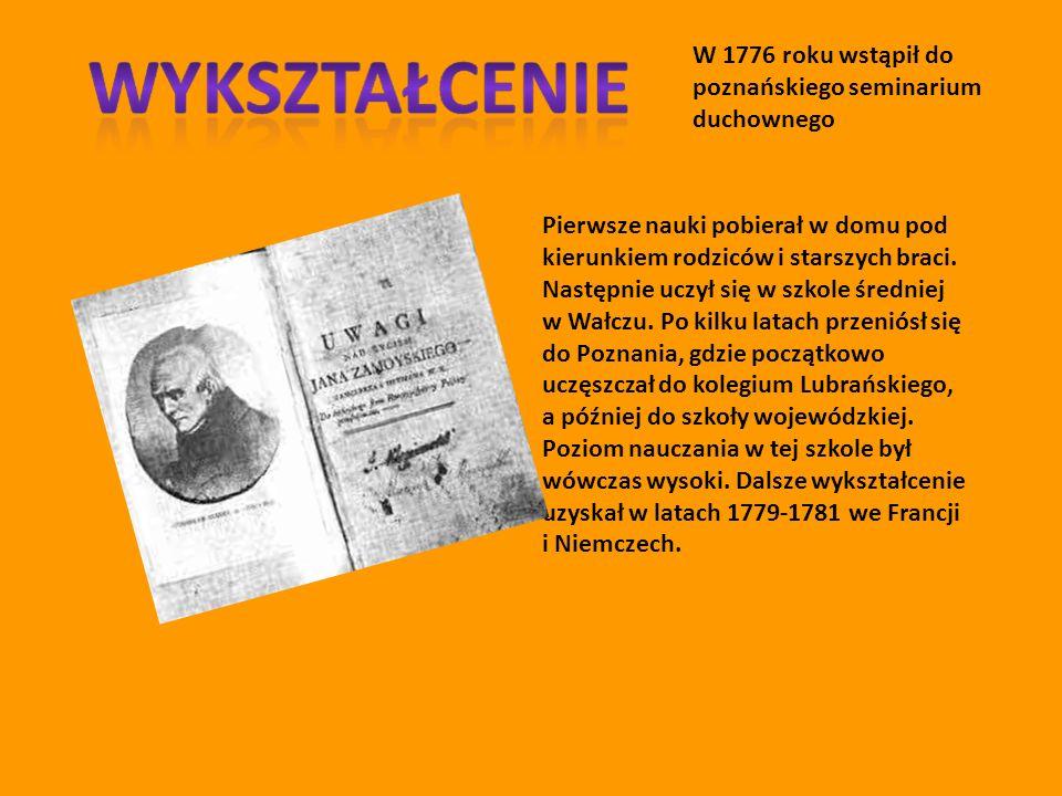 Stanisław Staszic był uczonym, filozofem, przyrodnikiem i pisarzem politycznym, księdzem; jednym z najwybitniejszych przedstawicieli polskiego oświecenia.
