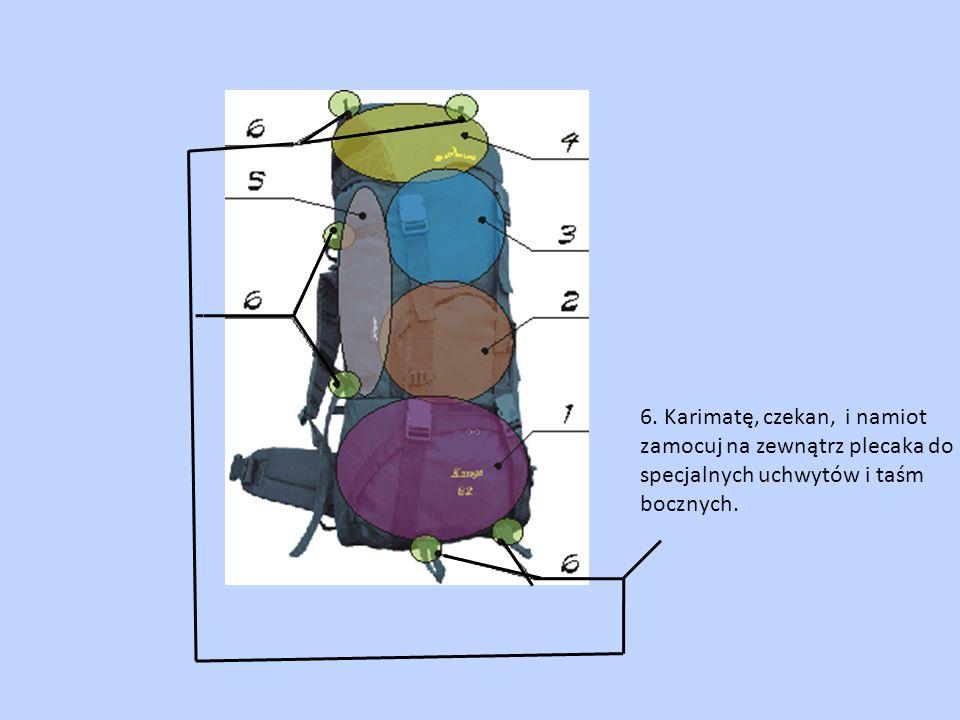 Gdy pakujesz się na dłuższą wyprawę pieszą lub zmuszony jesteś przejeżdżać z miejsce na miejsce unikaj noszenia ekwipunku w ręku - to bardzo niewygodne.
