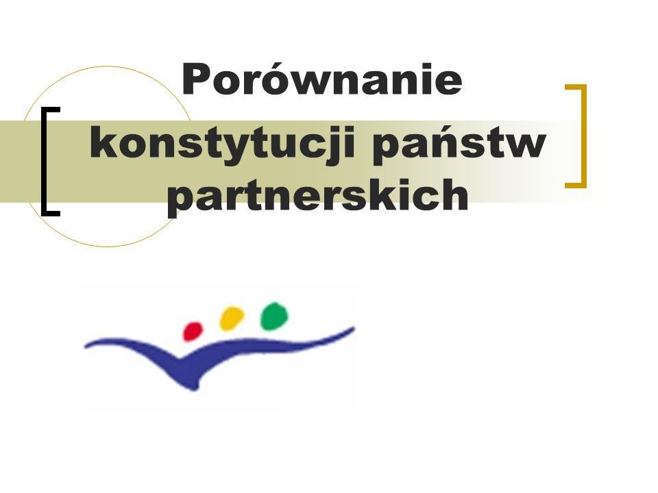 Porównanie konstytucji państw partnerskich