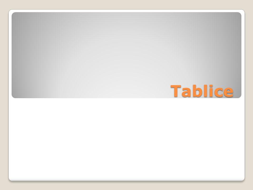 Tablice