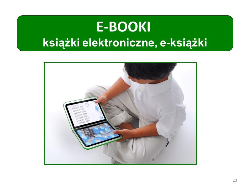 E-BOOKI książki elektroniczne, e-książki 23