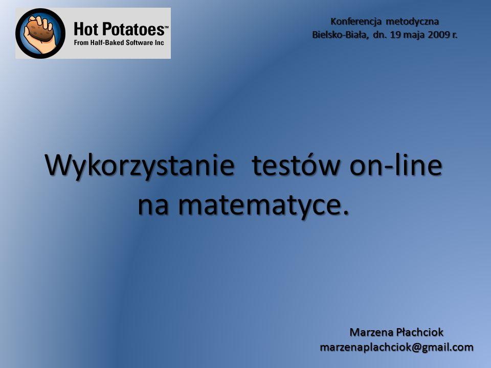 Konferencja metodyczna Bielsko-Biała, dn.19 maja 2009 r.