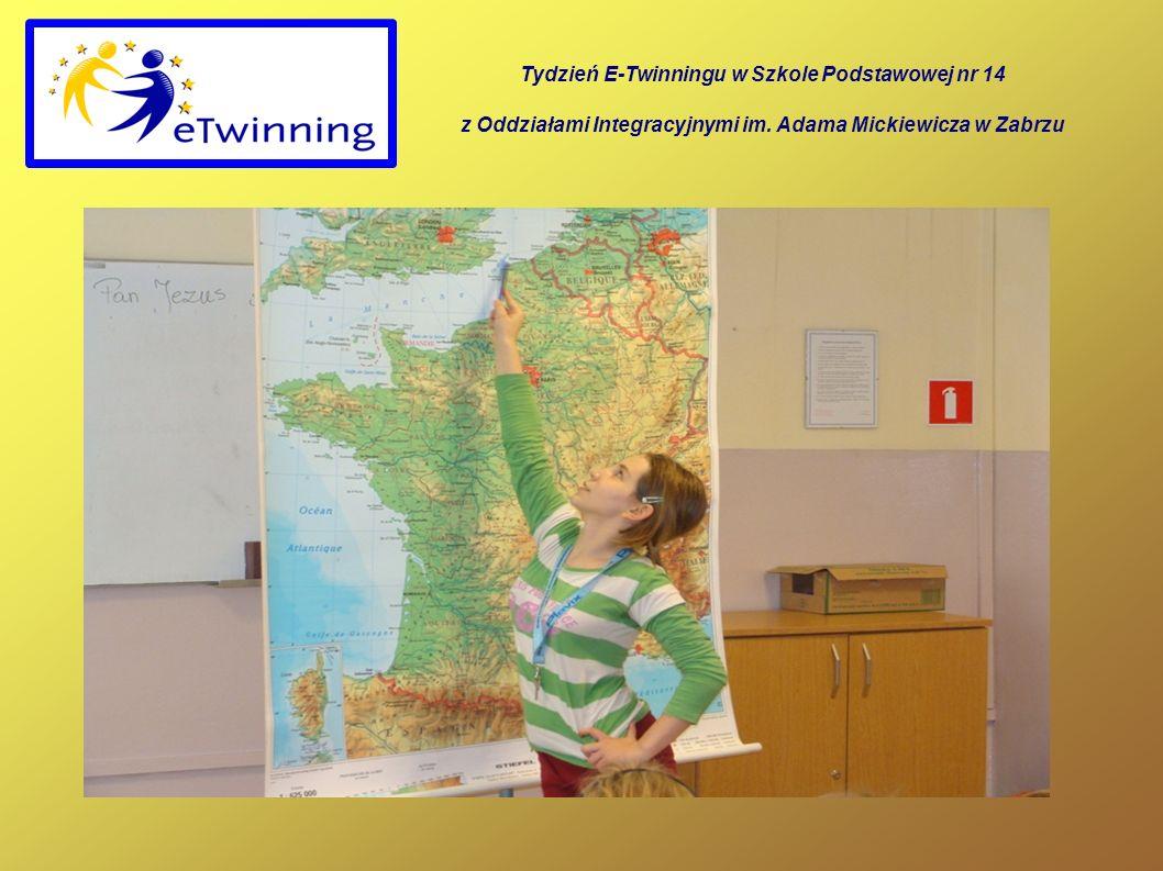 Tydzień E-Twinningu w Szkole Podstawowej nr 14 z Oddziałami Integracyjnymi im.