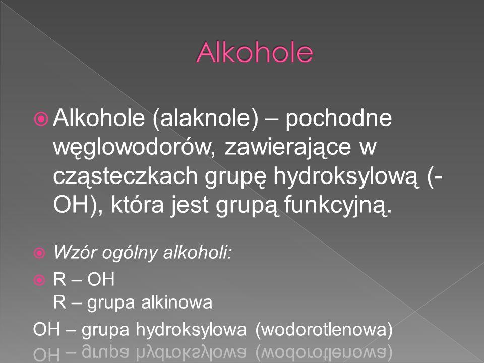Metanol to bezbarwna ciecz o ostrym charakterystycznym zapachu, bardzo dobrze rozpuszczalna w wodzie.