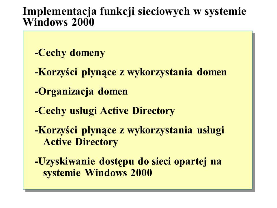 Cechy sieciowych systemów operacyjnych Sieciowy system operacyjny musi obsługiwać mechanizmy, które pozwalają aplikacjom komunikować się ze sobą. Doty