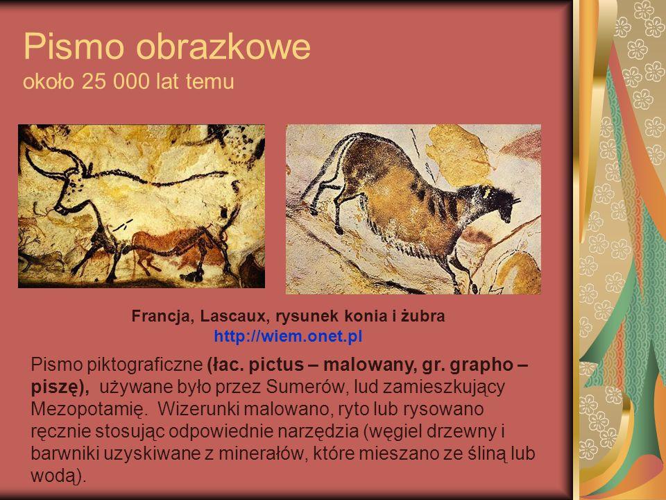 Pismo klinowe Sumerowie, 3000 lat p.n.e.