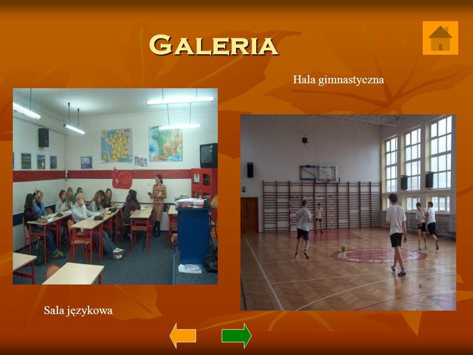 Galeria Sala językowa Hala gimnastyczna