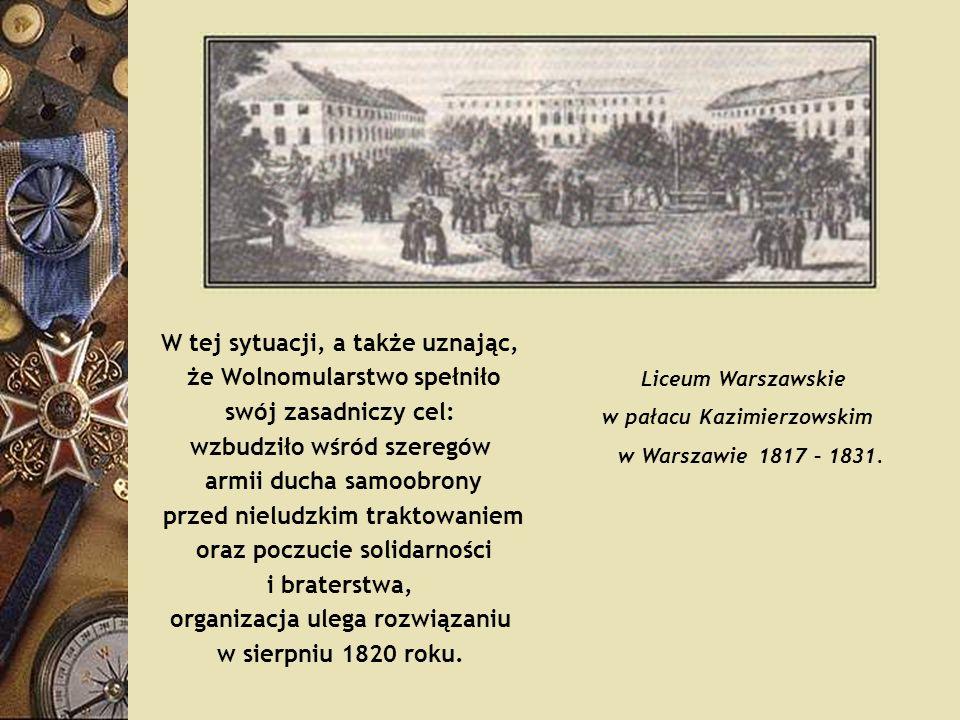 W tej sytuacji, a także uznając, że Wolnomularstwo spełniło swój zasadniczy cel: wzbudziło wśród szeregów armii ducha samoobrony przed nieludzkim trak