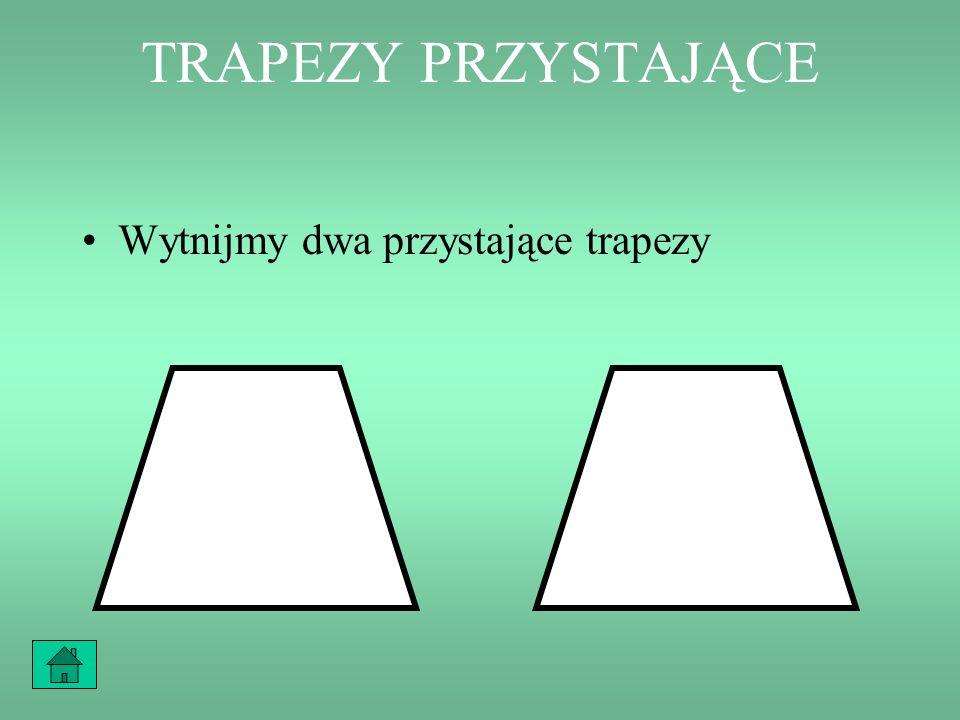 TRAPEZ – CO TO ZA FIGURA? Czworokąt, który ma chociaż jedną parę boków równoległych nazywamy trapezem.