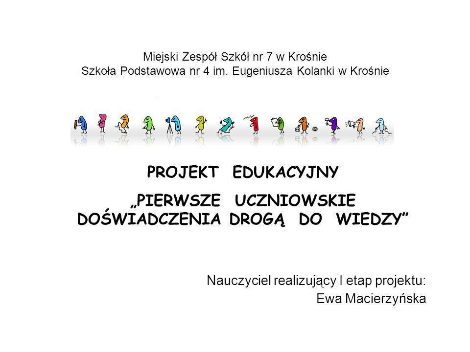 Ponadregionalny Projekt Edukacyjny współfinansowany przez Europejski Fundusz Społeczny i budżet państwa Projektodawca: Grupa Edukacyjna S.A.