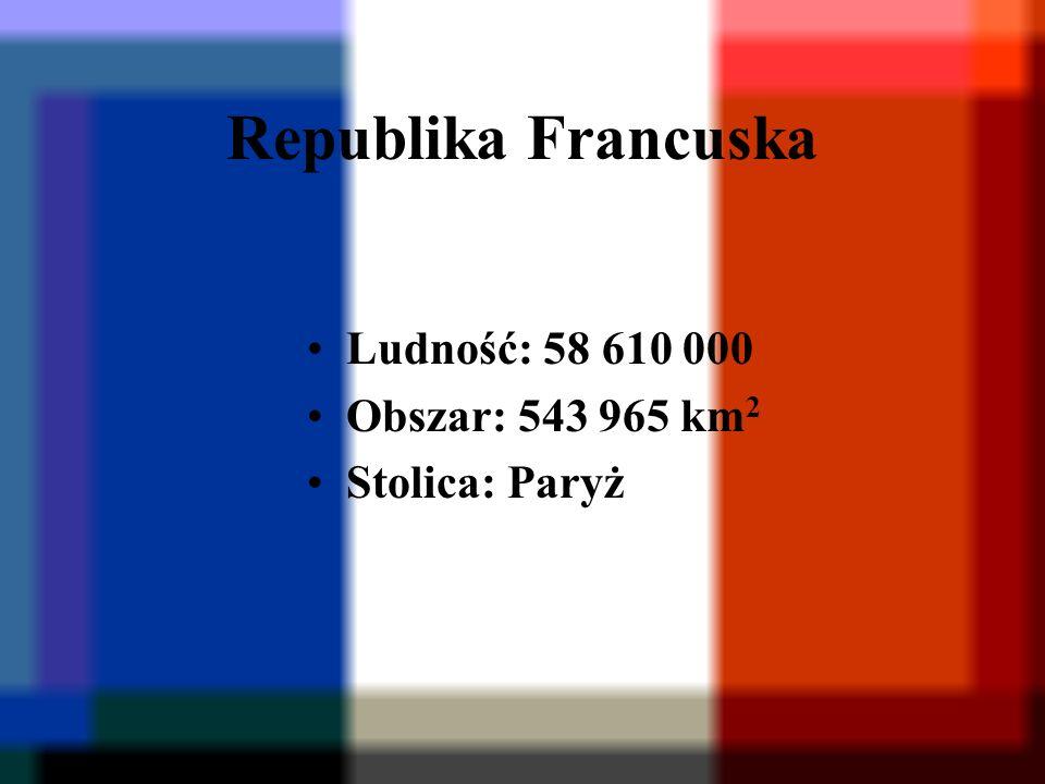 Republika Federalna Niemiec Ludność: 82 070 000 Obszar: 356 974 km 2 Stolica: Berlin