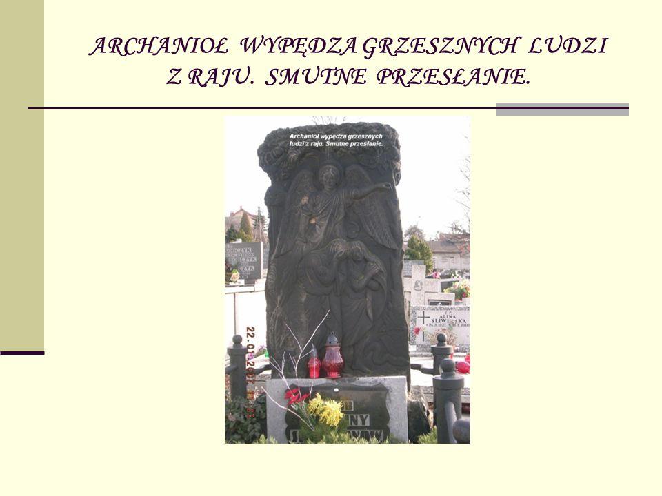 POMNIK NA GROBIE KSIĘDZA LUDWIKA SATALECKIEGO, PROBOSZCZA PARAFII p.w.