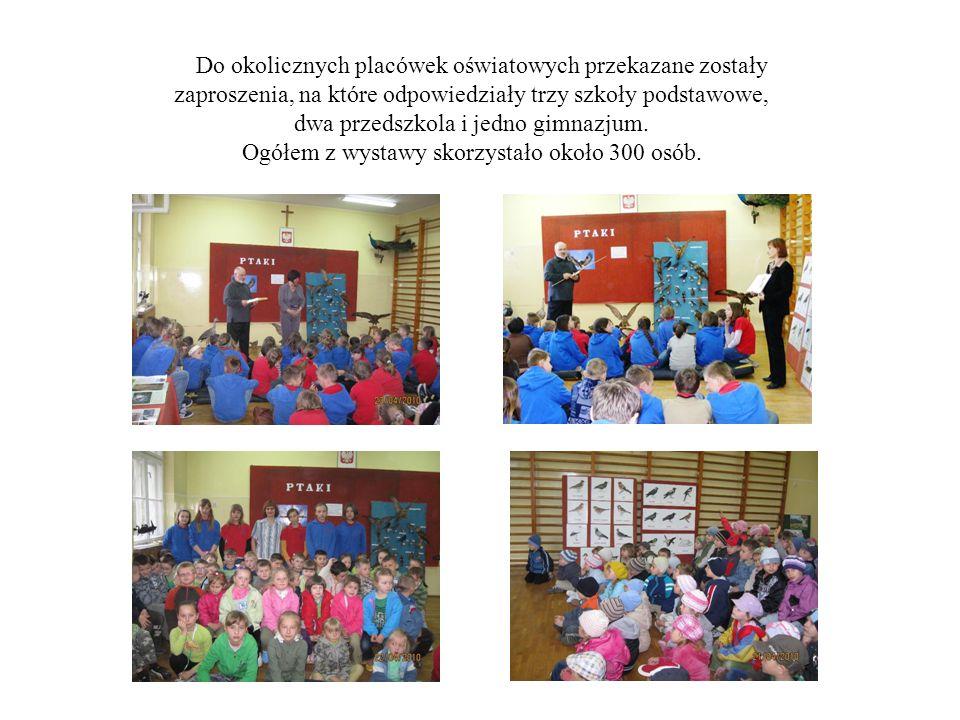 Jako pierwsi spoza naszej szkoły zaszczycili nas swoją obecnością uczniowie klasy V z Łęki Opatowskiej z opiekunami: Panem Henrykiem Bajorem oraz Panem Zbigniewem Szczepaniakiem.