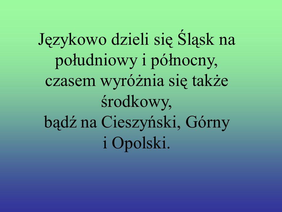 Dialekt Ś L Ą sKi