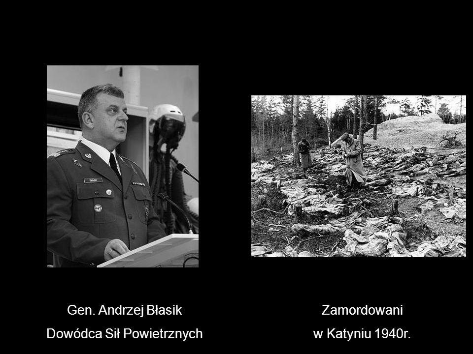 Gen. Andrzej Błasik Dowódca Sił Powietrznych Zamordowani w Katyniu 1940r.
