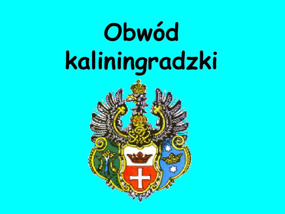 "Prezentacja ""Obw�d kaliningradzki Obw�d Kaliningradzki � obw�d na ..."