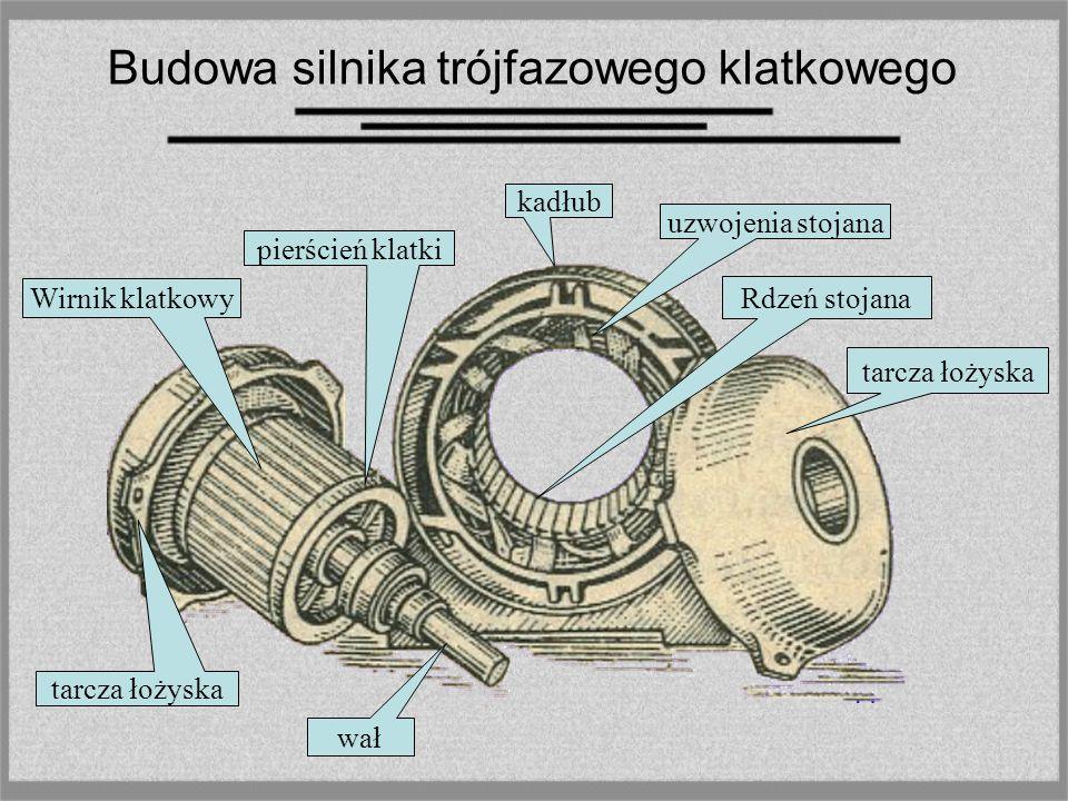 Silnik klatkowy ma bardzo prostą, tanią, i łatwa w utrzymaniu konstrukcję. Wykonanie silnika pierścieniowego jest o wiele droższe, ale konstrukcja ta,