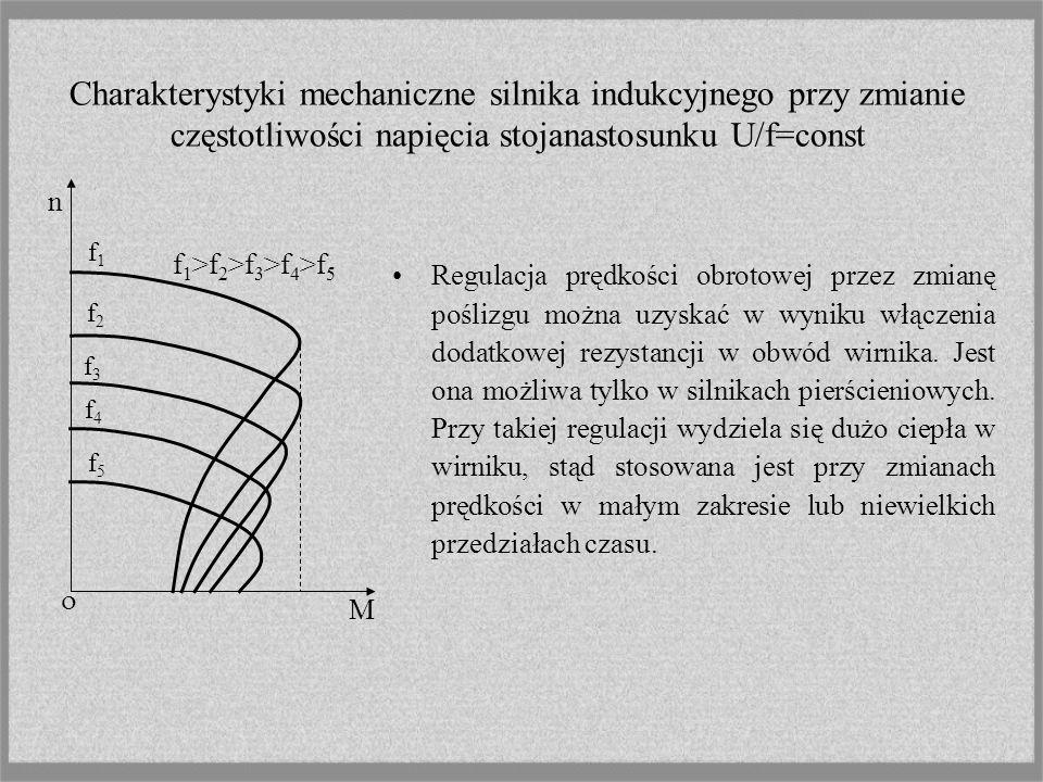 Regulacja prędkości przez zmianę par biegunów jest możliwa w silnikach o specjalnej budowie (wielobiegunowych w których na tabliczkę zaciskową wyprowa