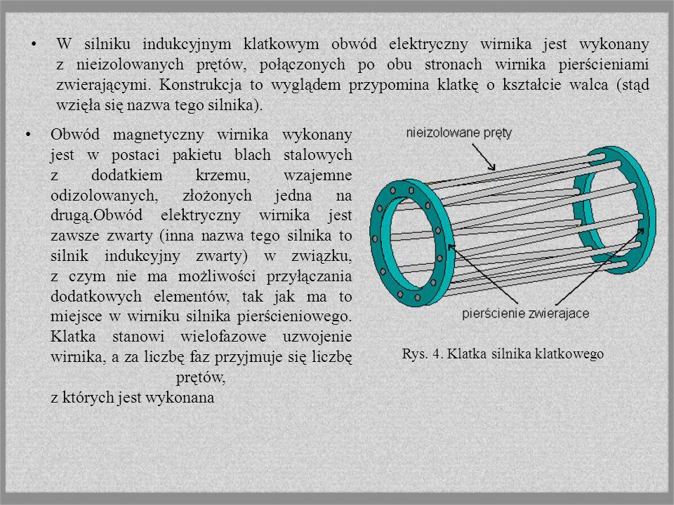 Uzwojenie stojana wykonane jest z izolowanego drutu, zaimpregnowane i mocno usztywnione, tak, aby zmniejszyć prawdopodobieństwo uszkodzenia na skutek