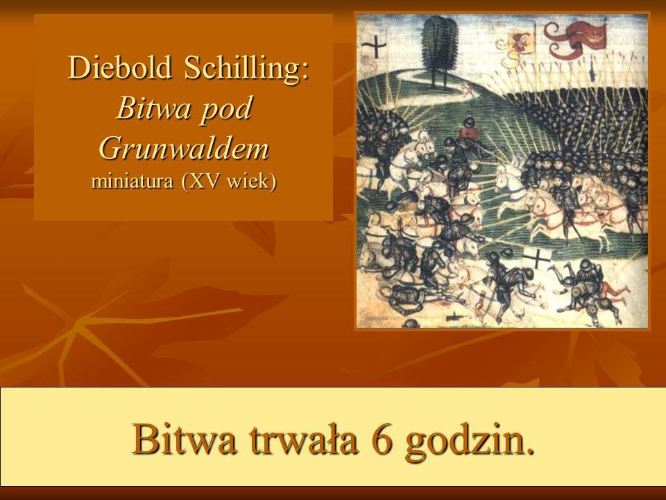 Schemat organizacyjny dowództwa armii polsko-litewskiej dnia 15 lipca 1410 wg.